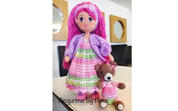 вязаная кукла беззаботная тыква вязаные игрушки