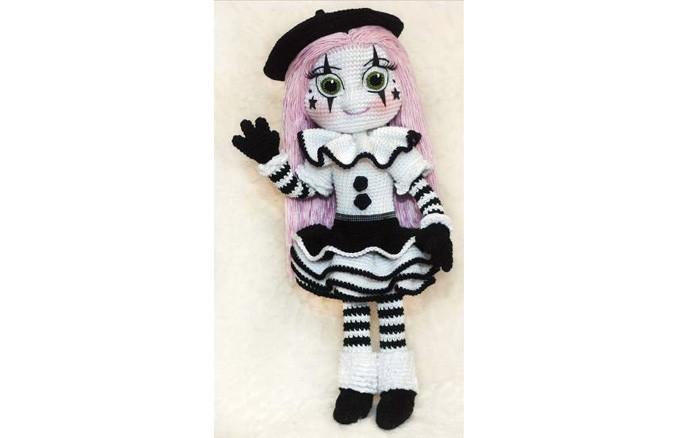 Вязаная кукла Мим. Схема
