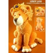 Вязаный лев Лерой. Спицами