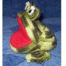 Лягушка-игольница крючком