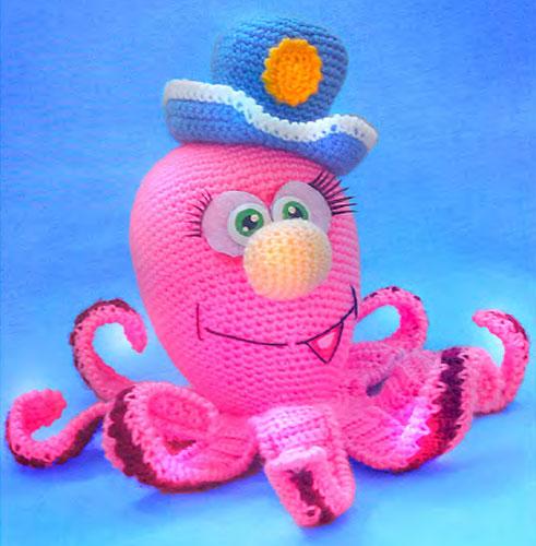 Вязаный осьминог. Остров сокровищ