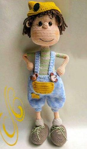 Вязаная кукла Пиммете. Мастер-класс