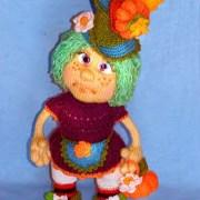 Вязаная кукла Хеллоуин. Мастер-класс