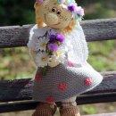 Кукла Дуняша. Крючком