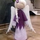 Вязаная крючком кукла Ангелок