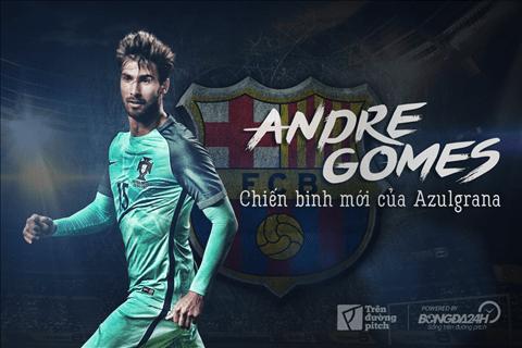 Andre Gomes - Tan binh cua Barcelona1