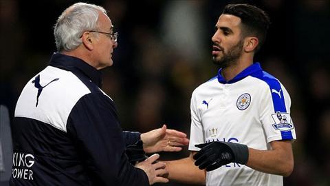 HLV Ranieri Khoac ao Arsenal, Mahrez khong bao gio la nha vo dich hinh anh