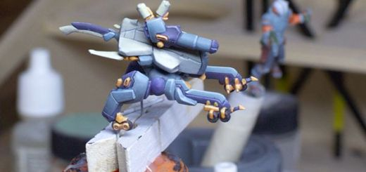 A picture of a painted Nomad Zond Remote from Infinity