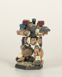 Heavy Gear Northern Grizzly. Miniatures by Dream Pod 9. Painted by Tyler Provick