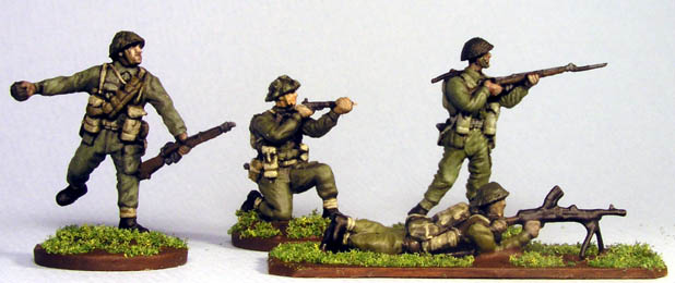 1/72 Soft Plastic WWII Canadians