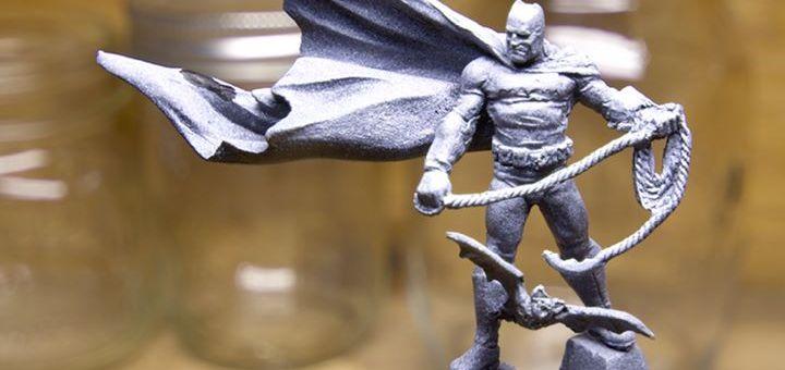 Zenithal Primed Knight Models Frank Miller Batman Miniature