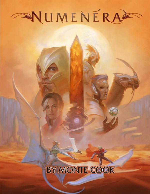 Numenera Cover. TM and Copyright Monte Cook Games LLC