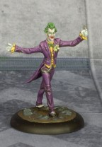 Batman Miniature Game Joker. Model by Knight Models. Painted by Tyler Provick