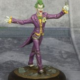 Batman Miniature Game Joker. Model by Knight Models. Painted by Tyler Provick