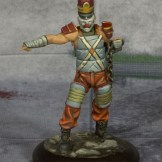 Batman Miniature Game Ringmaster. Model by Knight Models. Painted by Tyler Provick