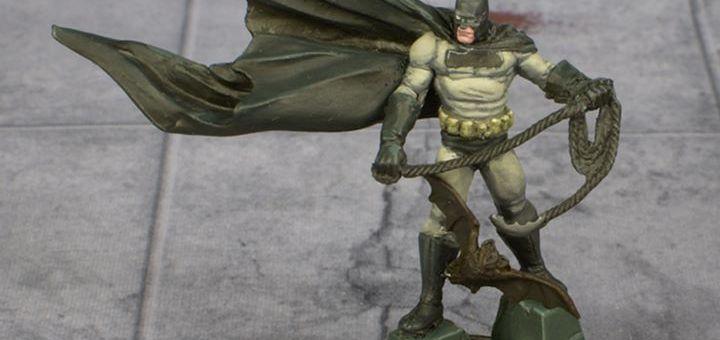 Knight Models Frank Miller Batman painted by Tyler Provick
