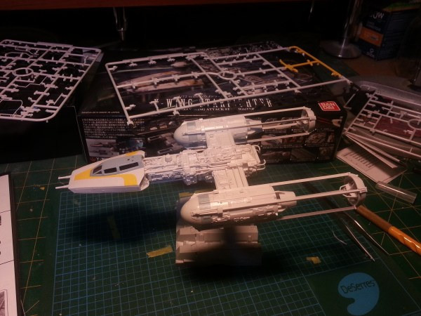 Bandai 1/72 Star Wars Y-Wing