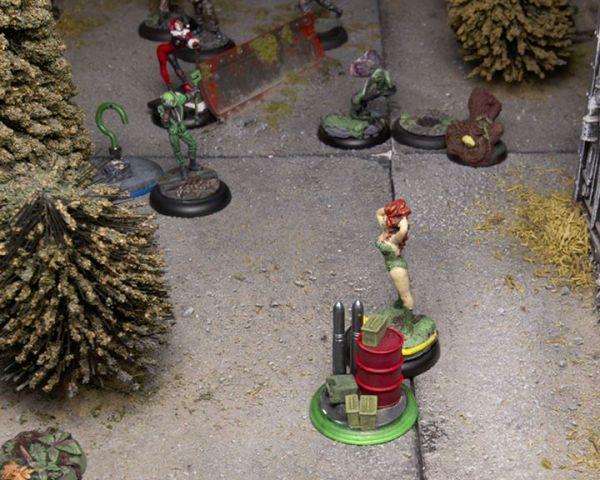 Batman Miniature Game Poison Ivy The Riddler Harley Quinn