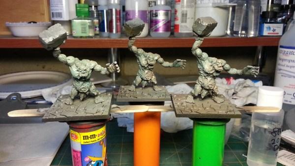Dungeon Saga Zombie Trolls