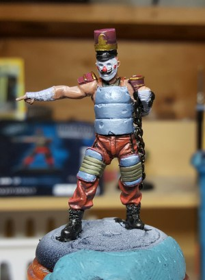 Armoured Clown from Batman Miniature Game