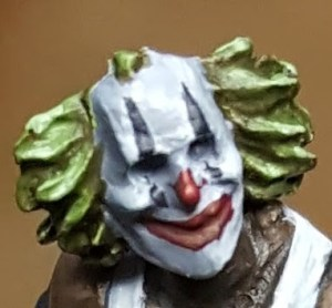 Batman Miniature Game Sniggering Face Detail