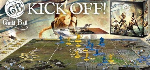 Kick off! Guild Ball boxed set by Steamforged Games Ltd.