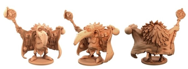 Beaky Bobby for Moonstone. Copyright Goblin King Games. Sculpted by Tom Lishman.