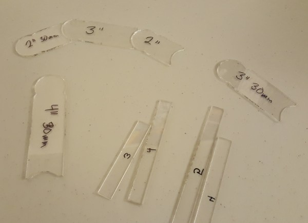Measuring Widgets