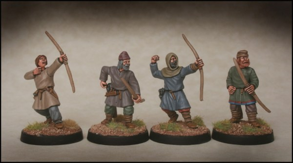 Footsore Late Saxon Archers. Image by Footsore Minaitures and used without permission.