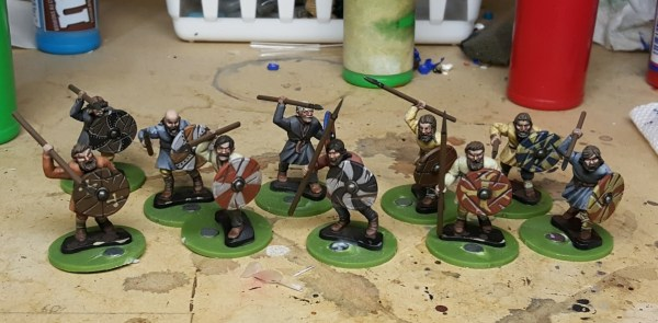 Saga Anglo-Danes by Gripping Beast. Painted by Tyler Provick.