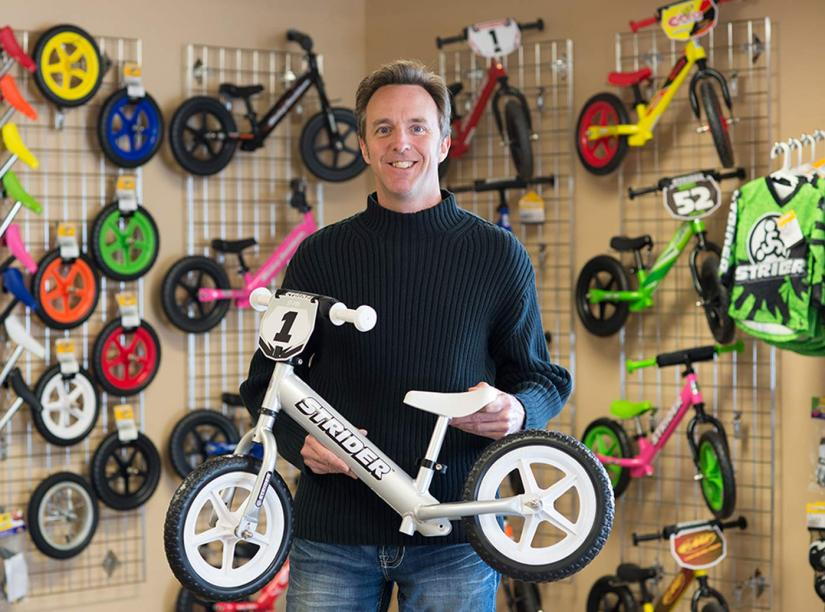 Startup and entrepreneurship advice from Strider Bikes founder Ryan McFarland