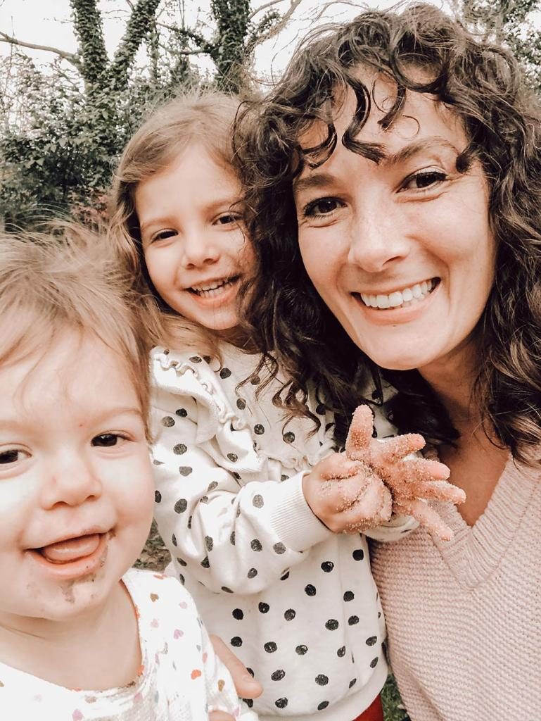 tiny earth toys founder rachael classi with kids