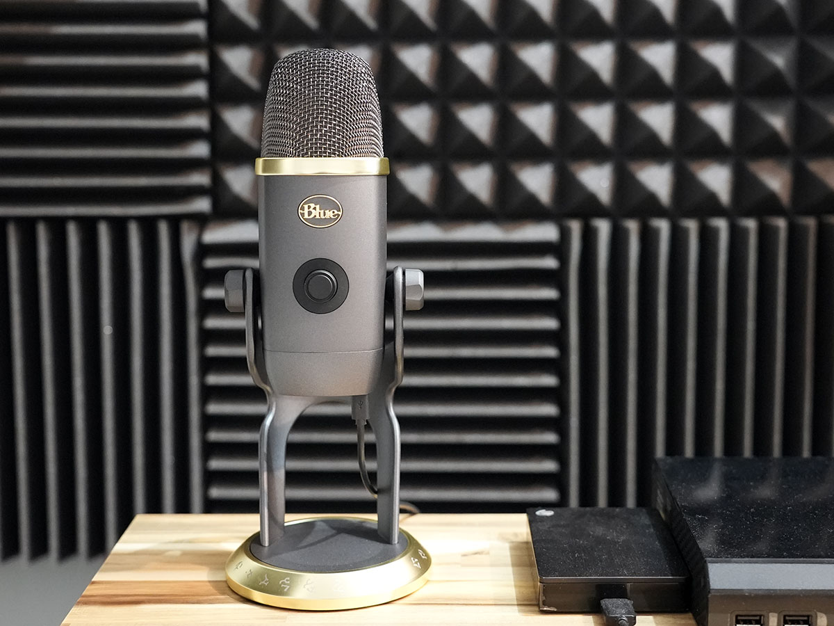 blue yeti x podcast microphone review