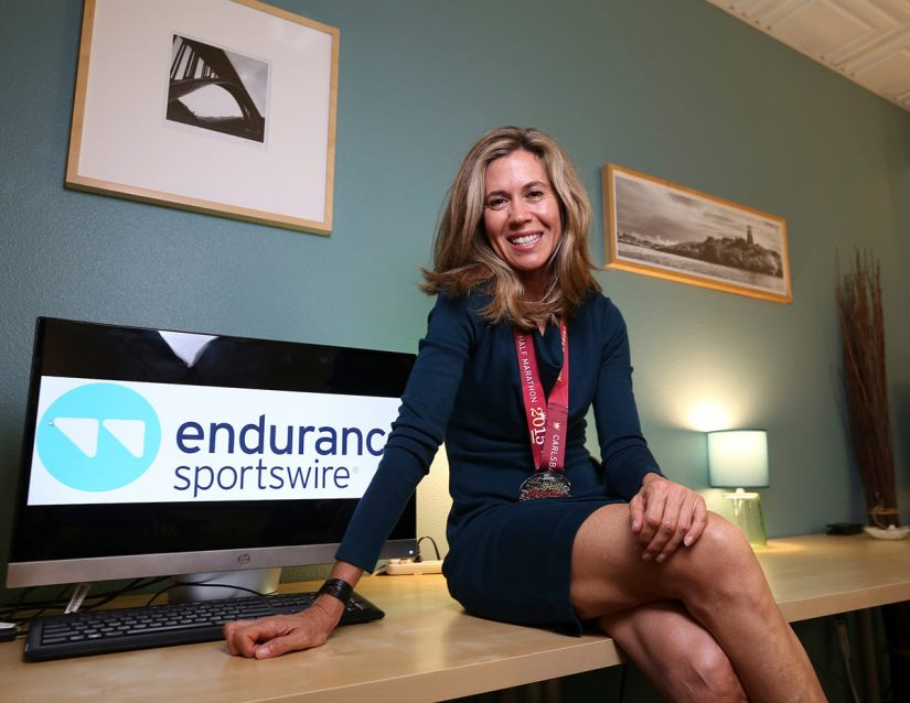 interview with endurance sportswire founder tina wilmott about how to create a profitable lifestyle business