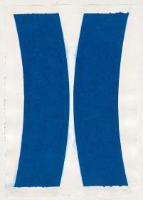 Ellsworth Kelly, 'Colored paper image V', 1976, National Gallery of Australia, Canberra