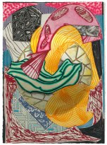 Frank Stella, The cabin. Ahab and Starbuck (dome), from the 'Moby Dick (domes)' series 1992