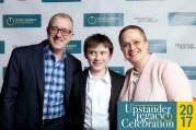 Bert Orlov, Adrienne Opalka and family