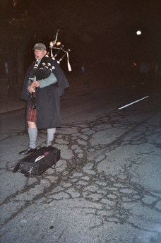 Streetcracks & bagpipes