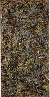 """""""Number 5"""" sold in 2006 for $140,000,000 (most expensive painting ever sold)"""