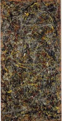 """Number 5"" sold in 2006 for $140,000,000 (most expensive painting ever sold)"