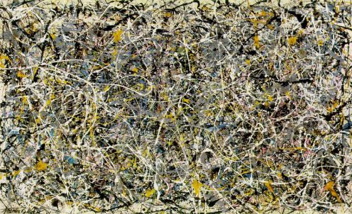 "Jackson Pollock ""No. 1, 1949"" (professionally imaged)"