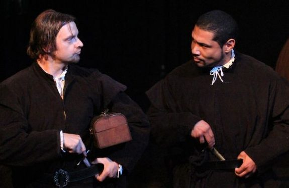 Pulp Shakespeare at Theatre Asylum (photo by Rick Clark; copyright 2011, LA Times)