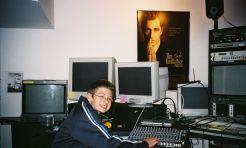 Me (12) visiting American Zoetrope in SF (2006)