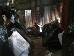 Trash... lots of trash