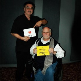 Frank Cavestrani and Ron Kovic