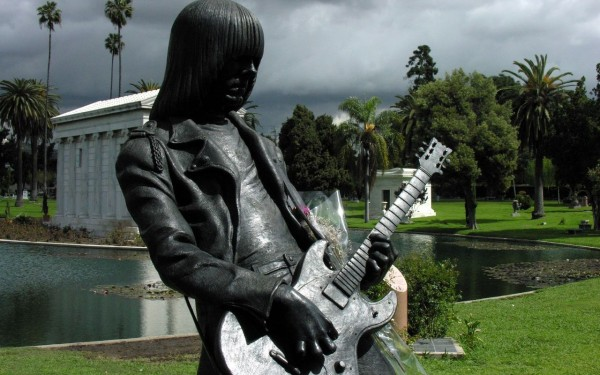 Johnny Ramone (photo credit, Wikipedia Commons)