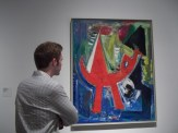 05 Flight by Hans Hofmann (1952)