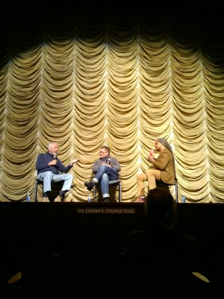 04 Barry Newman and Janusz Kaminski at Bing Theater