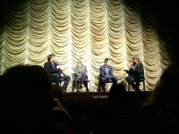 Richard Linklater, Julie Delpy and Ethan Hawke talk with Elvis Mitchell at LACMA