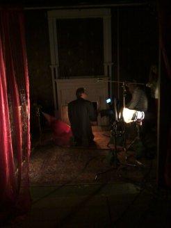 27 Mikael Looks At Our Lighting Setup